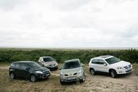 Ford Kuga - Nissan Qashqai - Renault Koleos - Volkswagen Tiguan : les ennemis jurés du Rav 4