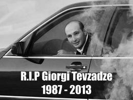 Giorgi Tevzadze tué dans un accident de voiture