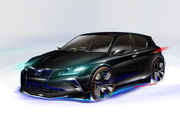 Chicago 2011 : Lexus Project CT par Five Axis, un méchant plumage