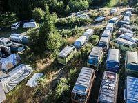 55 vieux Volkswagen Combi à vendre à un tarif très salé