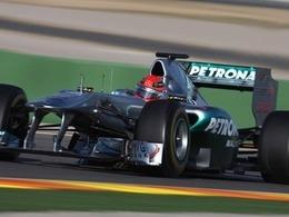 Schumacher veut renouer avec les podiums