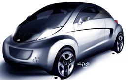 Mitsubishi i MiEV Sport-Air Concept par l'Oeil de Lynx