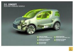 Le Renault Z.E. Concept à propulsion électrique