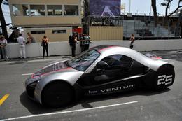 La Venturi Volage électrique : la sensation verte de Monaco