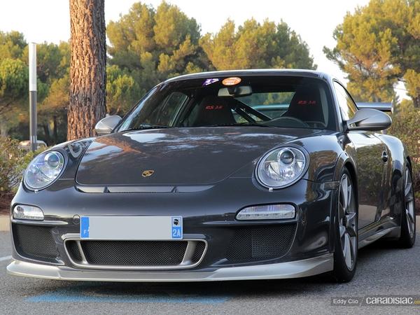 Photos du jour : Porsche 911 997 GT3 RS (10000 Tours)