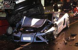 Lamborghini Gallardo Polizia : dead in action