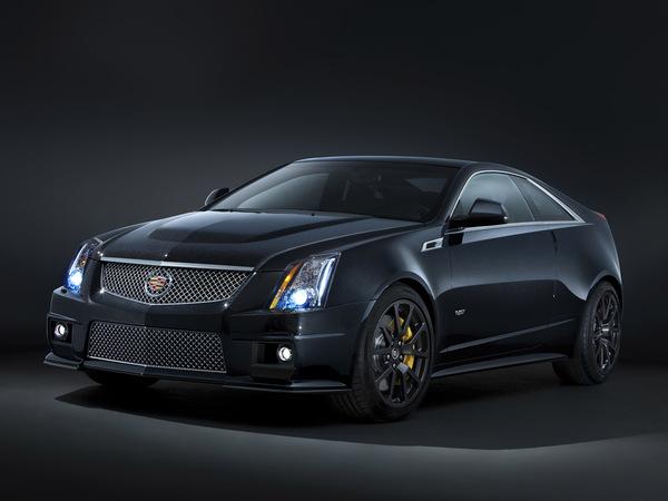 Cadillac CTS-V Black Diamond Edition : une noire qui voit rouge