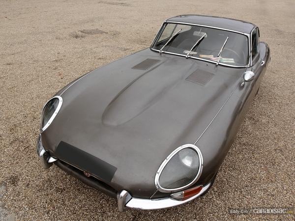 Photos du jour : Jaguar Type E (Cars & Coffee Paris)