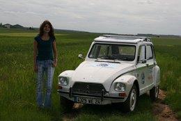 Essai d'une Citroën Dyane électrique à énergie solaire : l'Electrodyane