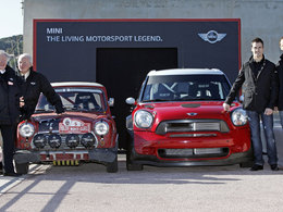 La Mini Countryman WRC en tenue de sport