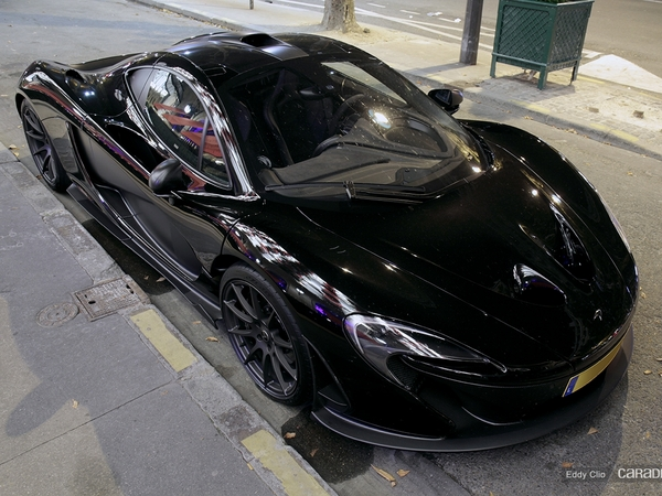 Photos du jour : McLaren P1