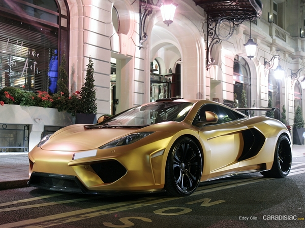 Photos du jour : McLaren MP4-12C Fab Design