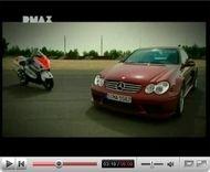 Vidéo «mauto» : Suzuki Hayabusa vs Mercedes CLK DTM