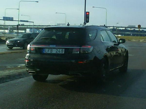 Saab 9-5 Estate : déjà dans la circulation