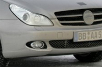 La Mercedes CLS prête à se refaire une beauté