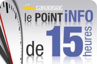 Point info de 15h - Genève 2009 : Top départ !