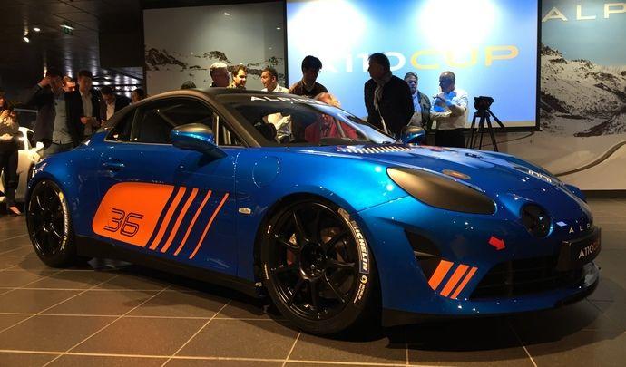 Alpine Cup: découvrez la version course de l'Alpine A110