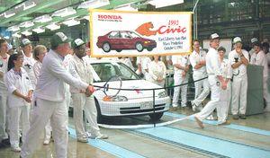 Honda : la production confirmée aux Etats-Unis