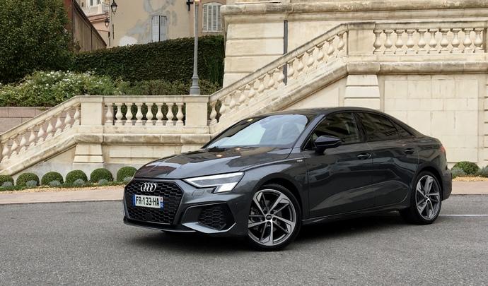 Essai - Audi A3 berline (2020) : un bien pour une malle