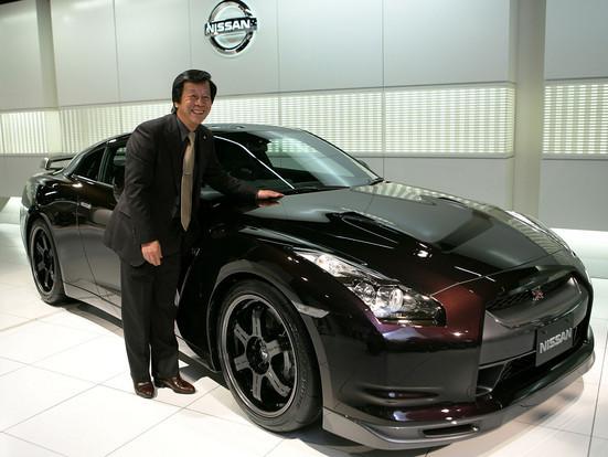 Le poids de la Nissan GTR n'est pas un problème selon son créateur Kazutoshi Mizuno