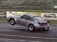 [Vidéo]: Une Porsche qui lève... les roues avant !