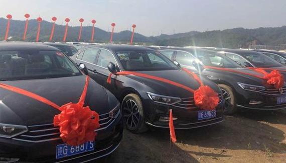 Une société chinoise offre une voiture neuve à chacun de ses 4116 employés
