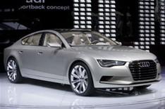 Audi A7 : lancement prévu en août 2010 à Moscou