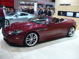 Genève 2009 - Aston-Martin DBS Volante : power, beauty, soul and wind in the hair