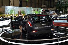 Lancia Delta HardBlack en direct de Genève