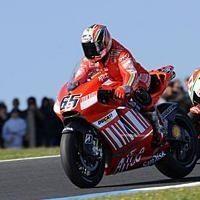 Moto GP - Australie Podium : 2. Capirossi