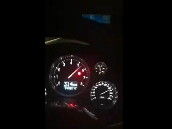 [Vidéo] Une pointe à 353 km/h sur autoroute allemande, c'est si facile