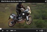 Honda: la nouvelle Africa Twin (2015) se dévoile intégralement dans ces images qui bougent (vidéo)