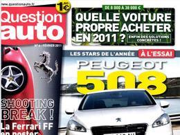 Question Auto (n°6): un magazine décidément rafraîchissant... à lire absolument!