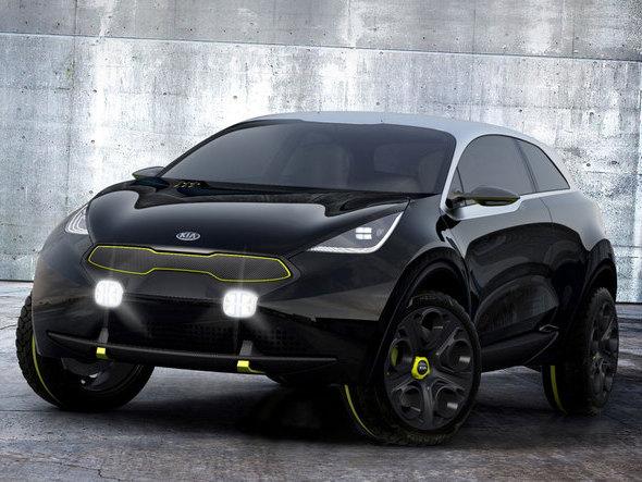 Kia prépare un important SUV compact hybride pour 2016