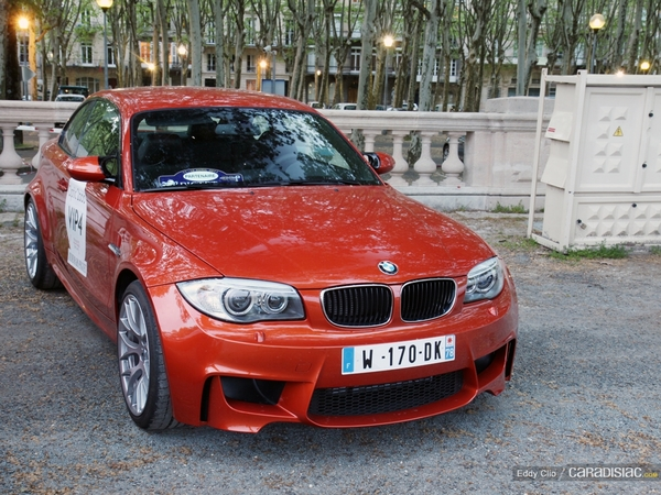 Photos du jour : BMW Serie 1 M (Tour Auto)