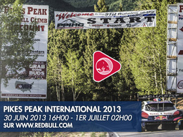 Pikes Peak 2013 : en live sur Red Bull TV