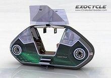 Concept - Exocycle : ceci est une moto connectée