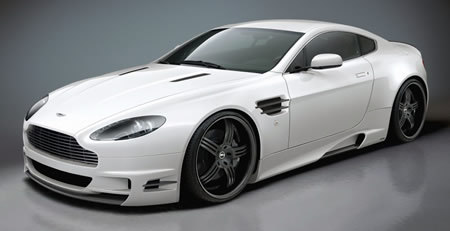 Aston Martin V8 Vantage by Premier4509 : body-buildée !