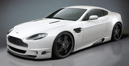 Aston Martin V8 Vantage by Premier4509 : body-buildée !