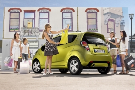 Nouvelle Chevrolet Spark : à partir de 6990€ jusqu'à fin 2009, 8690€ ensuite