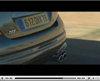 Les vidéos du jour : nouvelles Peugeot 207 CC et 207 RC
