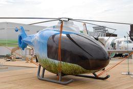 Salon du Bourget 2009 : un moteur de voiture sobre dans un hélicoptère !
