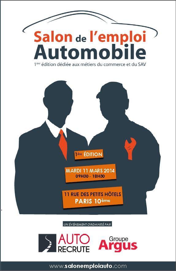 Le salon de l 39 emploi automobile ouvre ses portes dans 8 jours for Salon de l emploi paris