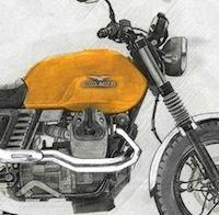 """Moto Guzzi V7: une version """"Scrambler Style"""" disponible dans quelques jours"""