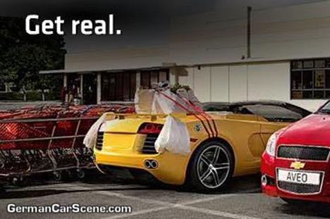Spider Audi R8 : c'est ça ?