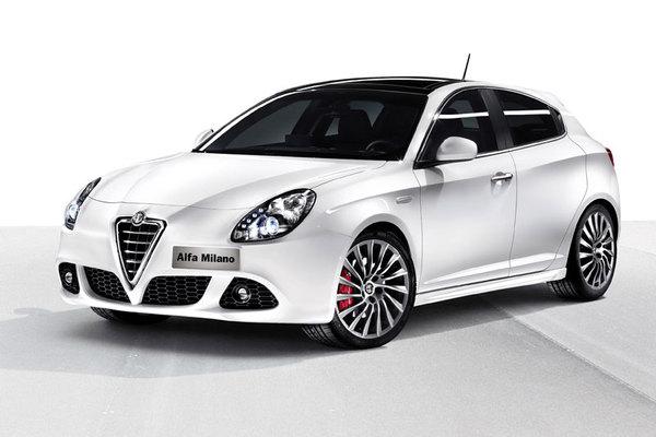 Nouvelle Alfa Romeo ex-Milano : la voilà