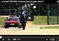 La Suzuki GSX-S 1000... c'est pas pour les petits vieux!!! Vidéo