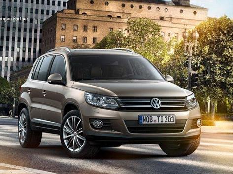 Le VW Tiguan restylé encore en fuite