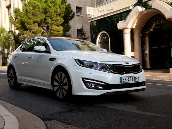 Une nouvelle Kia Optima dès début 2015