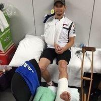 Vidéo - Suzuka: la terrible chute Casey Stoner